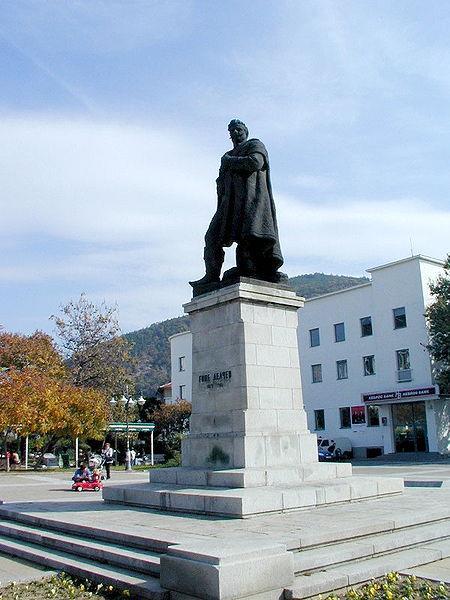 Monument of Goce Delchev, Bulgarian national hero